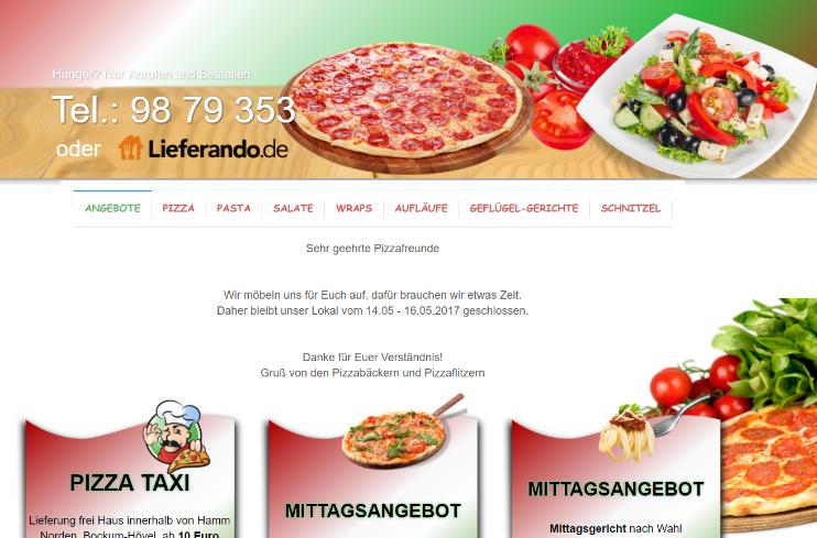 Pizzeria in Hamm